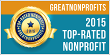 Great Nonprofits seal for Top-rated Nonprofits